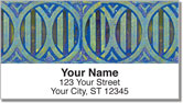 Colored Ring Address Labels