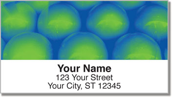 Funky Bubble Wrap Address Labels