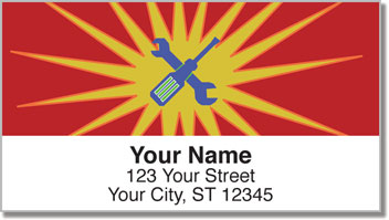 Auto Body Address Labels