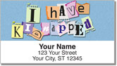 Ransom Note Address Labels