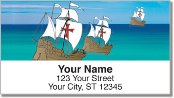 Christopher Columbus Address Labels