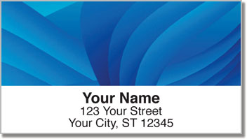 Colorful Energy Address Labels