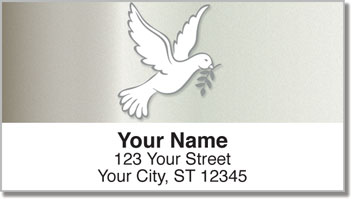 Symbols of Peace Address Labels