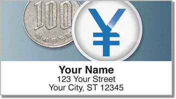 International Currency Address Labels