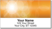 Lens Flare Address Labels