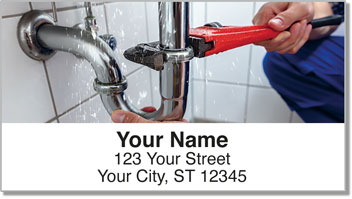 Plumbing Address Labels