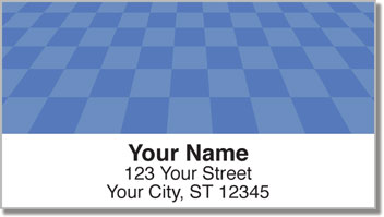Checkerboard Pattern Address Labels