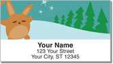 Funny Bunny Address Labels