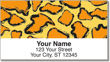 Wildlife Pattern Address Labels