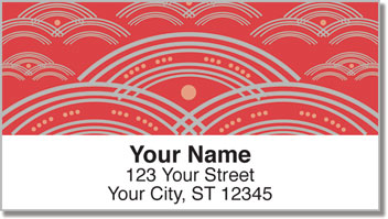 Artsy Arch Address Labels