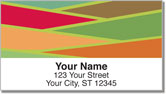 Slats of Color Address Labels