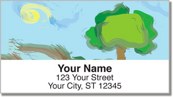Cold Creek Address Labels