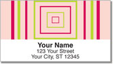 Retro Frame Address Labels