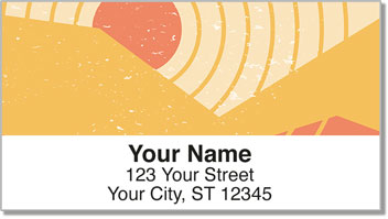 Fun Sun Address Labels