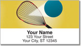 Racquetball Address Labels