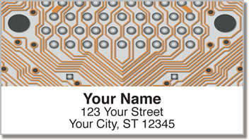 Electrician Address Labels