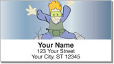 Skydiving Address Labels