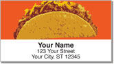 Fast Food Address Labels