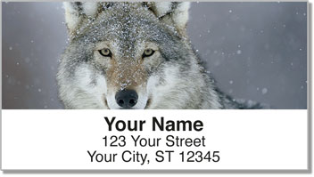 Gray Wolf Address Labels