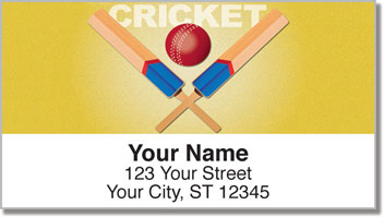 Cricket Address Labels