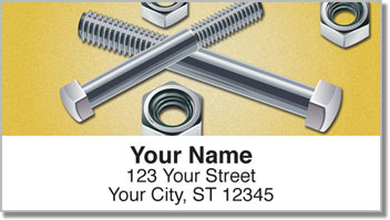 Nuts & Bolts Address Labels