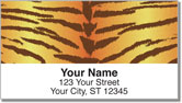 Tiger Stripe Address Labels