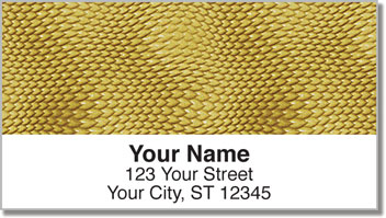 Snakeskin Address Labels