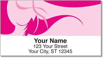 Salon Styling Address Labels