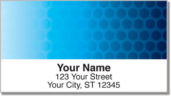 Fading Circle Address Labels