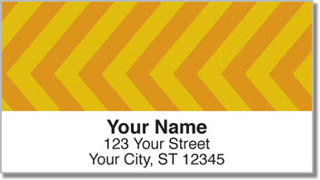 Diagonal Line Address Labels