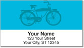 Classic Bicycle Address Labels