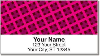 Shaping Up Address Labels