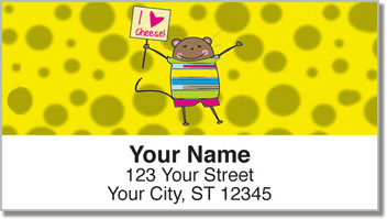 Mischievous Mice Address Labels