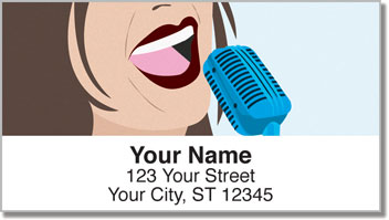 Singer Address Labels