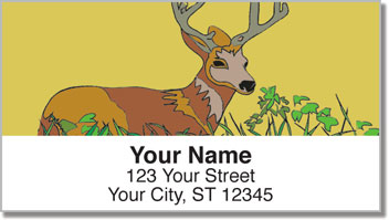 Big Buck Address Labels