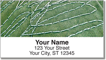 Crazy Stitch Address Labels