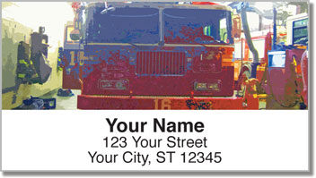 Fire Station Address Labels