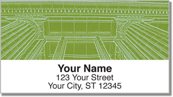 Artistic Architecture Address Labels