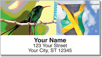 Jamaica Address Labels
