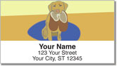 Labrador Address Labels