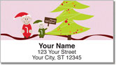 Jolly Elf Address Labels