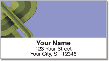 Retro Line Address Labels