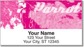 Funky Parrot Address Labels