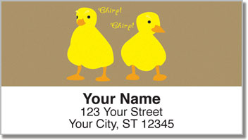 Farm Animal Address Labels