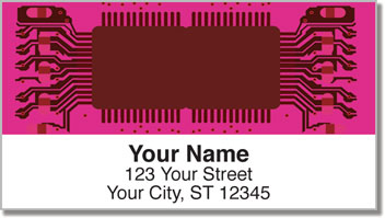 Computer Repair Address Labels