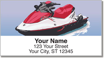 Wave Rider Address Labels