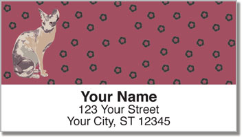 Sphynx Cat Address Labels