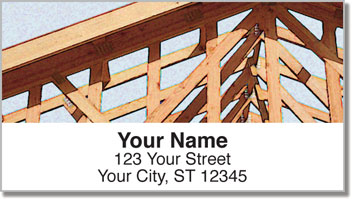 Home Construction Address Labels
