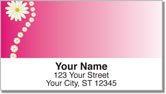 Corner Daisy Address Labels