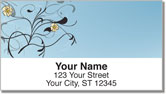 Pretty Pansy Address Labels